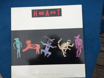 LP  Heart Bad animals