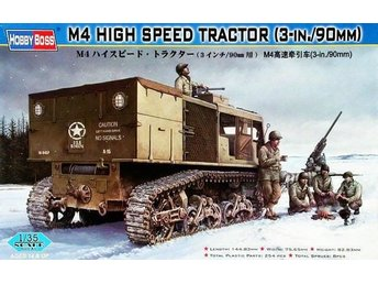 M4 HIGH SPEED TRACTOR    HOBBYBOSS 1/35 Byggsats