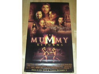 The Mummy Return Vinyl Plast Affischer Banner 1,0x1,5 m