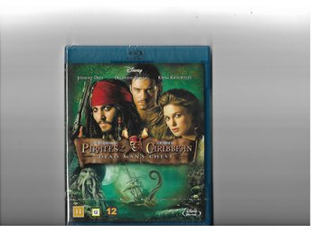 Pirates of the Caribbean: Död mans kista (2006) BluRay