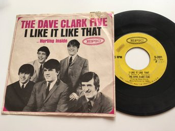 The Dave Clark Five I like it like that / Hurting inside USA press 1965