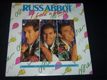 RUSS ABBOT - I LOVE A PARTY LP 1985 TOPPSKICK!