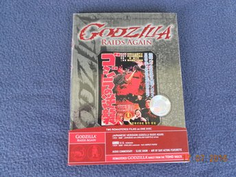 GODZILLA RAIDS AGAIN (1955) REGION 1 DVD - USA 2006 Inkl Amerikansk version!