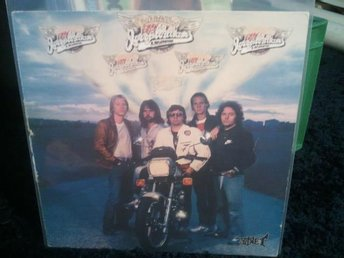 LP JERRY WILLIAMS & ROADWORK - Hot rock n´roll band  1980