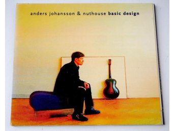 Anders Johansson & Nuthouse / Basic Design CD pappersomslag - Enskede - Anders Johansson & Nuthouse / Basic Design CD pappersomslag - Enskede