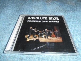 Sir Bourbon Dixieland Band - Absolute Dixie (CD) EX/EX - Göteborg - Sir Bourbon Dixieland Band - Absolute Dixie (CD) EX/EX - Göteborg