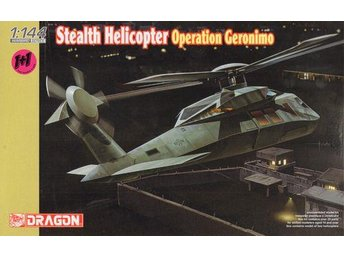 Stealth Helicopter Operation Geronimo, Plastbyggsats från Dragon, 4628