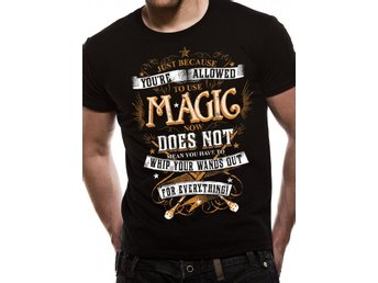 HARRY POTTER - MAGIC WANDS T-Shirt - Small