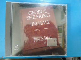 George Shearing & Jim Hall / First Edition / Beg CD i fint skick