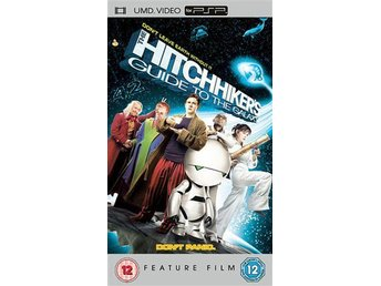 Hitchhikers Guide To The Galaxy - UMD DVD - Playstation PSP