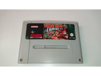 Super Nintendo - Donkey Kong country - SCN