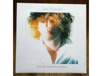 Ian Hunter, 1983, Mott the Hoople, Record = Near Mint