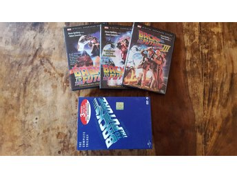 Back to the Future / The Complete trilogy/ DVD (3 disc box) / Engelsk text!