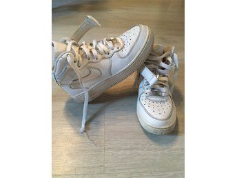 Nike air force high vita sneakers strl 36