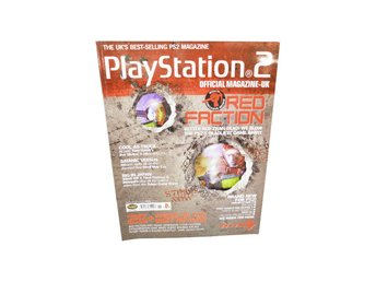 Playstation Official Magazine - UK Juni 2001 RED FACTION