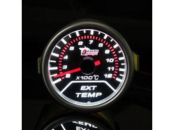 2 Inch 52MM Universal Car Red Led Exhaust Gas Temperature...