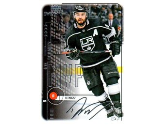 2018-19 Upper Deck MVP 24 Drew Doughty Los Angeles Kings 20th Anniversary Silver