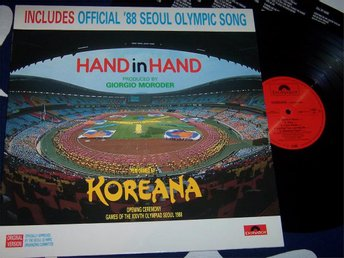 KOREANA - HAND IN HAND LP 1988 OFFICIAL SEOUL OLYMPIC SOMG