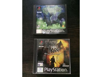 Syphon Filter + Alone in the Dark PS1