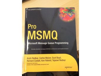 Pro MSMQ Microsoft Message Queue Programming - ny