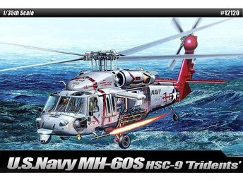 Academy 1/35 USN MK-60S Helicopter HSC-9 Trouble Shooter - Skoghall - Academy 1/35 USN MK-60S Helicopter 'HSC-9 Trouble Shooter' - Skoghall