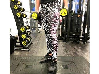 Fitness/Yoga-tights från StylebyJNY tights träning byxor ormmönster Storlek L - Hultsfred - Fitness/Yoga-tights från StylebyJNY tights träning byxor ormmönster Storlek L - Hultsfred