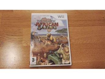 Wild Earth African Safari Wii spel