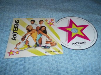 A*teens Bounce With Me CD-singel 1 trk Promo Rare!