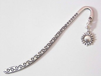 Solros bokmärke / Sunflower bookmark