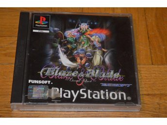 Blaze & Blade - Engelsk Version - Playstation PS1