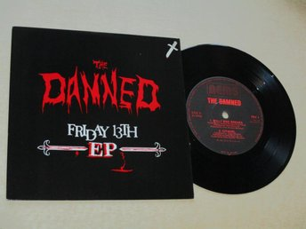 "The Damned (7"") - Friday 13th EP HOL-81"