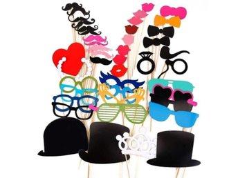 Rekvisita Mustasch Hatt Glasögon 44st - Hong Kong - Rekvisita Mustasch Hatt Glasögon 44st - Hong Kong