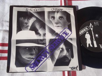 "SECRET SERVICE - YE SI CA 7"" 1980"
