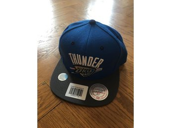 Oaklahoma City Thunder NBA Snapback Keps Mitchell & Ness M&N