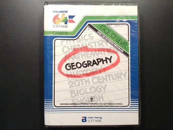 Geography till Commodore 64 / 128 | C64 | C128 | Ivan Berg