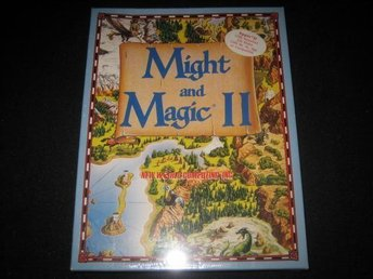 Might and Magic 2 nytt och inplastat