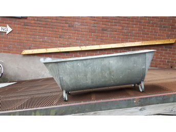 Zinkbadkar zink badkar blomlåda odlingslåda vattentråg - Borlänge - Zinkbadkar zink badkar blomlåda odlingslåda vattentråg - Borlänge
