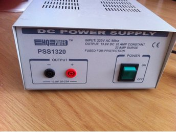 DC POWER SUPPLY PSS1320
