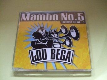Lou Bega - Mambo No. 5 (A Little Bit Of...) - 1999 - CD-EP