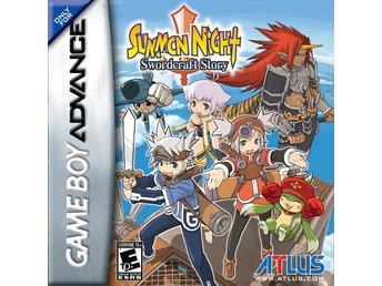 Summon Night 2: Swordcraft Story - Gameboy Advance