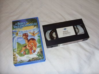 The Land Before Time III The Time of the Great Giving VHS PAL Portugal barn film