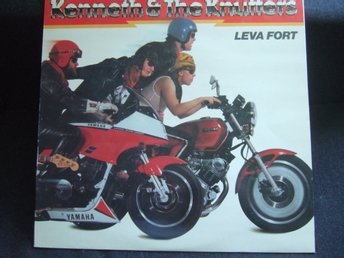 LP - KENNETH & THE KNUTTERS. Leva fort. 1984