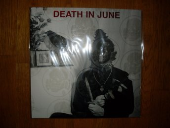 DEATH IN JUNE The Wall Of Sacrifice 2XLP NY!  RED VINYL