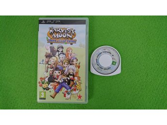 Harvest Moon Hero of Leaf Valley Playstation Portable PSP