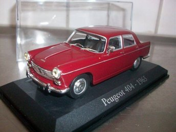 Peugeot 404 1965 Scale 1:43 Mint In Box