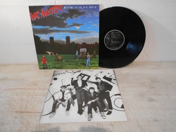 Mr. Mister - Welcome To The Real World Ger Orig-85 !!!!!