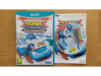 Nintendo Wii U: Sonic Allstars Racing Transformed
