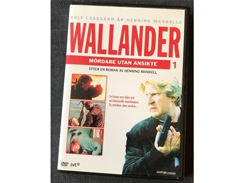 DVD: Wallander. Mördare utan ansikte. 2009. Action/Thriller