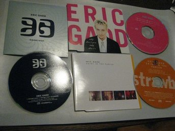 ERIC GADD TRE CD SINGLAR SAINT IN THE PARISH, WHY DON´T, YOU RISING HIGH
