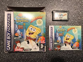 Spongebob Squarepants Supersponge GBA